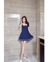 VW10307 Fashion Dress Blue