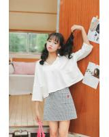 VW10410 Fashion Top White