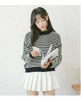 VW10411 Fashion Stripe Top Black