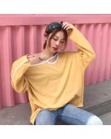 VW10359 Fashion Top Yellow