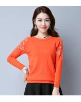 VW10436 Fashion Knit Top Orange