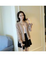 VW10437 Stylish Knit Cardigan Khaki