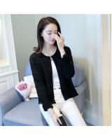 VW10437 Stylish Knit Cardigan Black