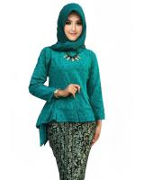 JW5017 Fishtail Peplum Set Tosca