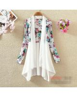 JW5022 Trendy Cardigan White