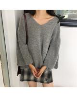 VW10652 Fashion Knit Top Grey