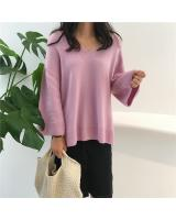 VW10652 Fashion Knit Top Purple