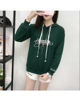 GW1775 Sporty Hooded Top Green