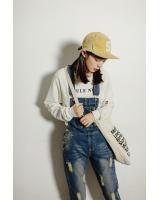 VW10655 Fashion Denim Jumpsuit Blue