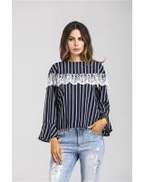 GW1779 Trendy Top Dark Blue