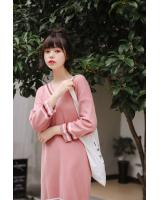 VW10659 Fashion Dress Pink
