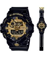 GT274 CASIO G-SHOCK GA-710GB-1A Digital Analog Watch | Bold Tough Design