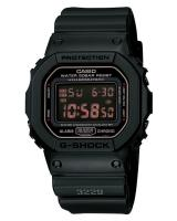 GT279 CASIO G-SHOCK DW-5600MS-1 Digital Watch | Army Force Matte Black