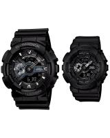 GT280 CASIO G-SHOCK BABY-G GA-110-1B BA-110BC-1A Couple Watch Matt Black