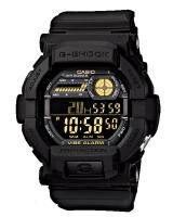 GT285 CASIO G-SHOCK GD-350-1B Digital Watch | Rugged Man Flash Alert