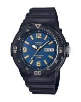GT288 CASIO STANDARD MRW-200H-2B3V Analog Mens Watch | Day Date Display