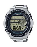 GT291 CASIO MEN AE-3000WD-1AV Digital Watch |3 Cities Time Disp. 10 Yrs Batt