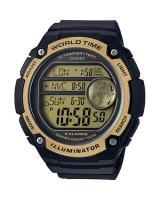 GT292 CASIO MEN AE-3000W-9AV Digital Watch | 3 Cities Time Disp. 10 Yrs Batt