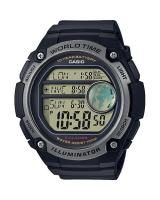 GT293 CASIO MEN AE-3000W-1AV Digital Watch | 3 Cities Time Disp. 10 Yrs Batt