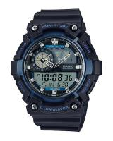 GT320 CASIO STANDARD AEQ-200W-2AV Analog Digital Watch | World Map