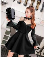 GW2102 Trendy Dress Black