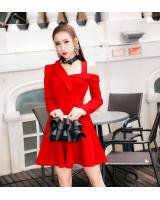 GW2103 Stylish Dress Red