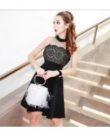 GW2105 Sexy Dress Black