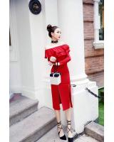 GW2107 Pretty Dress Red
