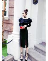 GW2107 Pretty Dress Black