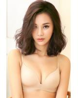 QA-299 Women Trendy Bra Cream