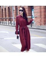 BM70112 Charming Dress Maroon