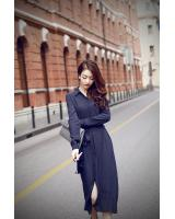 BM70112 Charming Dress Dark Blue