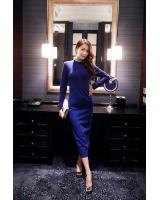 BM70113 Fashion Dress Blue