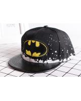 QA-313 Kids Stylish Caps Black Batman
