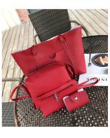 YS4217 4 IN 1 FASHION BAG (RED)