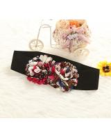 MA1591480 Flower Design Belt (Black)