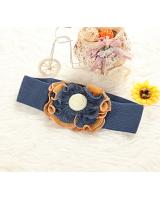 MA1591476 Flower Design Belt (Blue)
