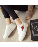 YK012 FLOWERS SNEAKERS (WHITE)