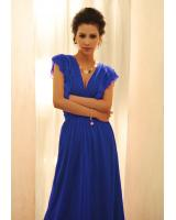 BM70277 Charming Chiffon Jumpsuit Blue