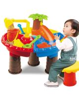 ET 814 Kids Round Table Beach Toys As Picture