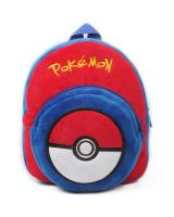 ET 830 Little Plush Kids Backpack Pokeball