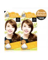 KT0004 Bubble Foam Hair Dye Latte Brown