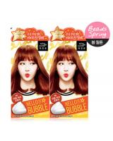 KT0004 Bubble Foam Hair Dye Peach Orange