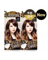 KT0004 Bubble Foam Hair Dye Ombre Medium