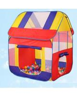 SWK91003 Children Castle Tent Red