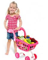 ET 841 Shopping Cart Trolley Kids Toys Pink