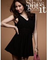WD21144 Stylish Dress Black