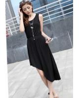 WD21153 Trendy Dress Black