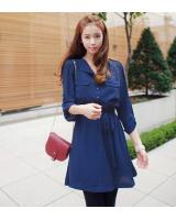 WD21155 Fashion Dress Blue