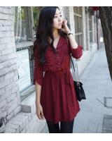 WD21155 Fashion Dress Red